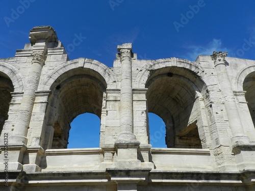 Photo Arles, France, Roman Arena, Detail