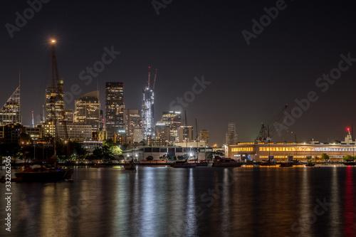 Fototapety, obrazy: sydney city at night