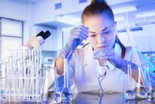 Laboratory Interior. Science R...
