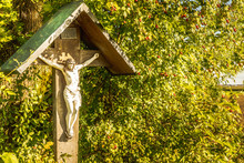 Wayside Cross With In Bavaria ...