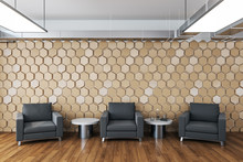 Contemporary Waiting Room With...