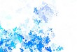 Light BLUE vector texture with abstract forms.