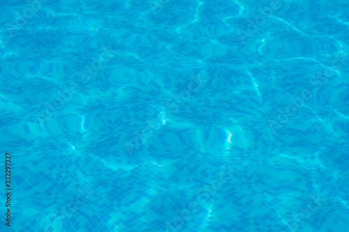 Photo piscina de natación con agua y sin personas