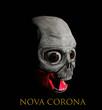 computer rendered 3d illustration of a nova corona monster