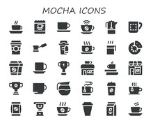 Mocha Icon Set