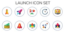 Launch Icon Set