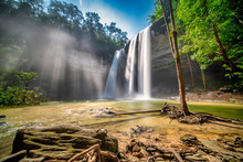 Huay Luang Waterfall Is Locate...
