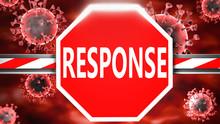 Response And Covid-19, Symboli...