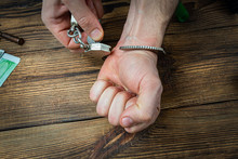 Removing Handcuffs From Hands ...