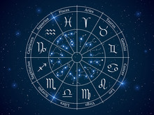Astrology Horoscope Circle. Wh...