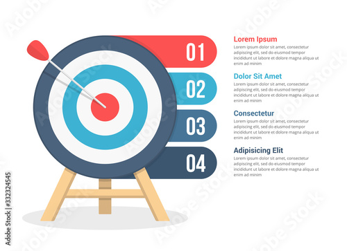 Photo Target Infographics