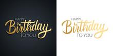 Happy Birthday Celebrate Set. ...