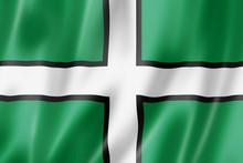 Devon County Flag, UK