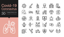 Covid-19 / Corona Virus Icons....