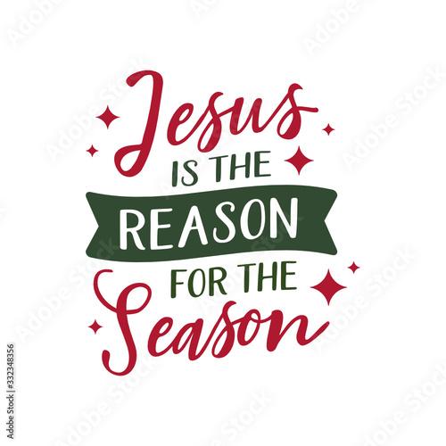 Obraz na plátne Jesus is the reason for the season