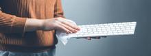Wipe The Keyboard