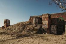 Abandoned Building In The Desert