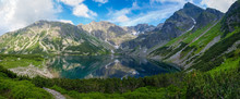 Mountain Lake Surrounded By Cr...