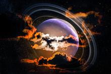 Alien Landscape Of Dawn Majest...