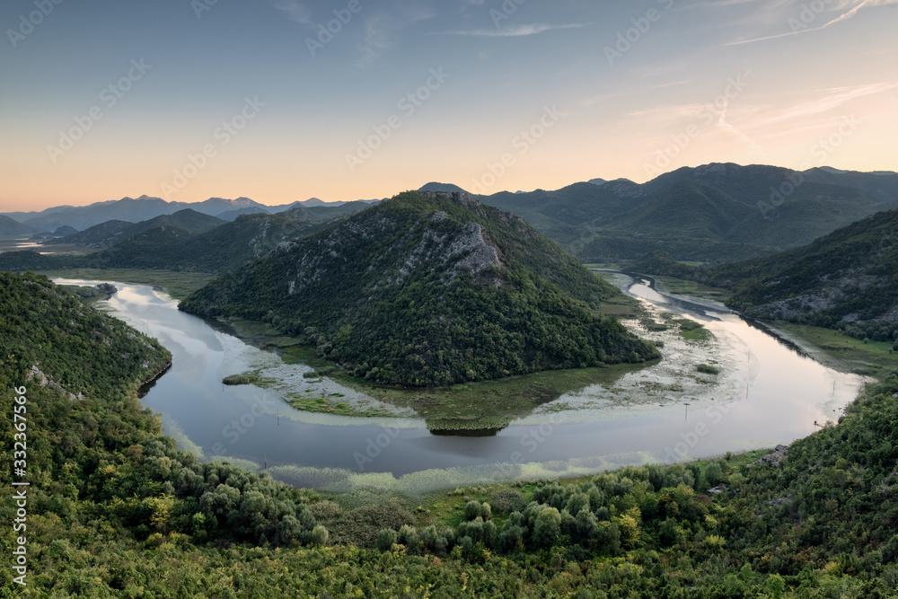 lake skadar in montenegro