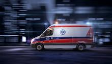 Ambulance Car, 911 Emergency M...
