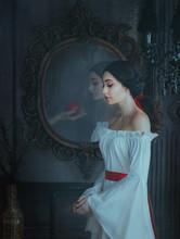 Portrait Beautiful Woman Conce...