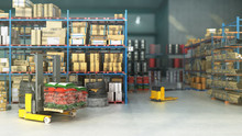 Hangar Delivery Warehouse 3d R...