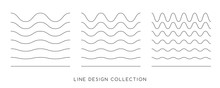Line Design Elements. Seamless...