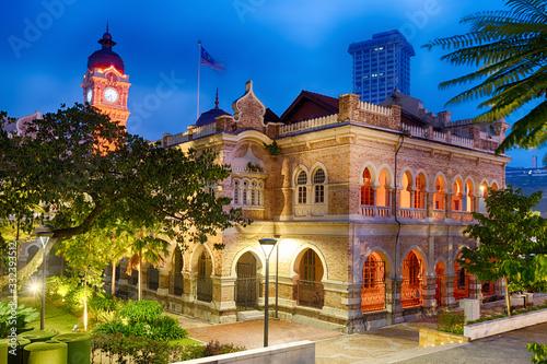 Sultan Abdul Samad Building at Merdeka square, Kuala Lumpur, Malaysia Wallpaper Mural