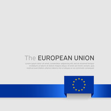 European Union Flag Background...
