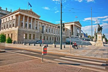 Zgrada austrijskog parlamenta u Ringstrasse Beč