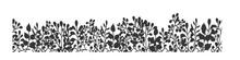 Interesting Floral Doodle Seam...