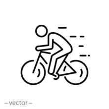 Biker Icon, Ride Bicycle, Conc...