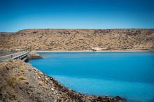 Turquoise Lake And Mountains I...