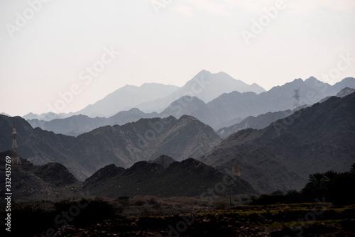 Mountain Layers Oman