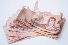 Thai Banknotes Background, Tha...