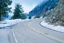 Angeles Crest Highway In Los A...