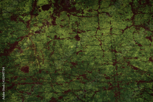 Old corroded metal surface with rust spots as a textured background