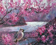 Landscape Oil Painting Illustr...
