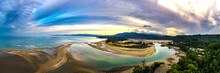 Ultra Wide HDR Panorama Of Riv...