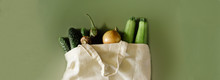 Vegetables In Reusable Cotton ...