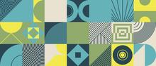 Digital Collage Vector Pattern Design