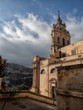 Modica cityscape. View to Historical Buildings. Sicily, Italy.
