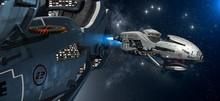 Interstellar Spaceship With A ...