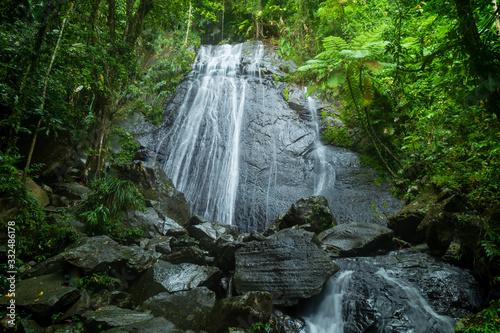 La Coca Falls, El Yunque, Puerto Rico