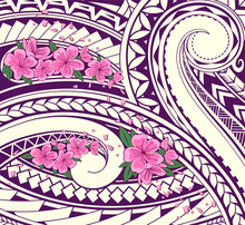 Polynesian Style Ornament