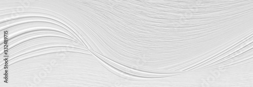 Fototapeta drewno  white-background-with-waves-and-bends-in-an-abstract-cosmic-form-circles-and-stains-gray