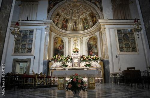 Sorrento - Altare della Basilica di Sant'Antonino Slika na platnu