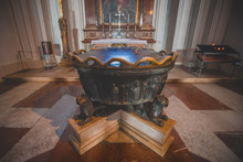 Baptismal Fountain In Which Co...