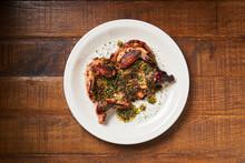 Fresh Grilled Chicken In Resta...